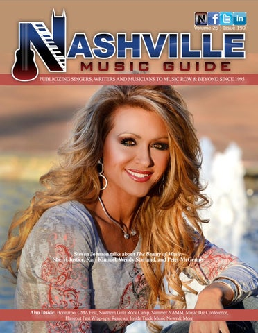 June 2018 vol 26 #190 Festival Special by Nashville Music Guide - issuu