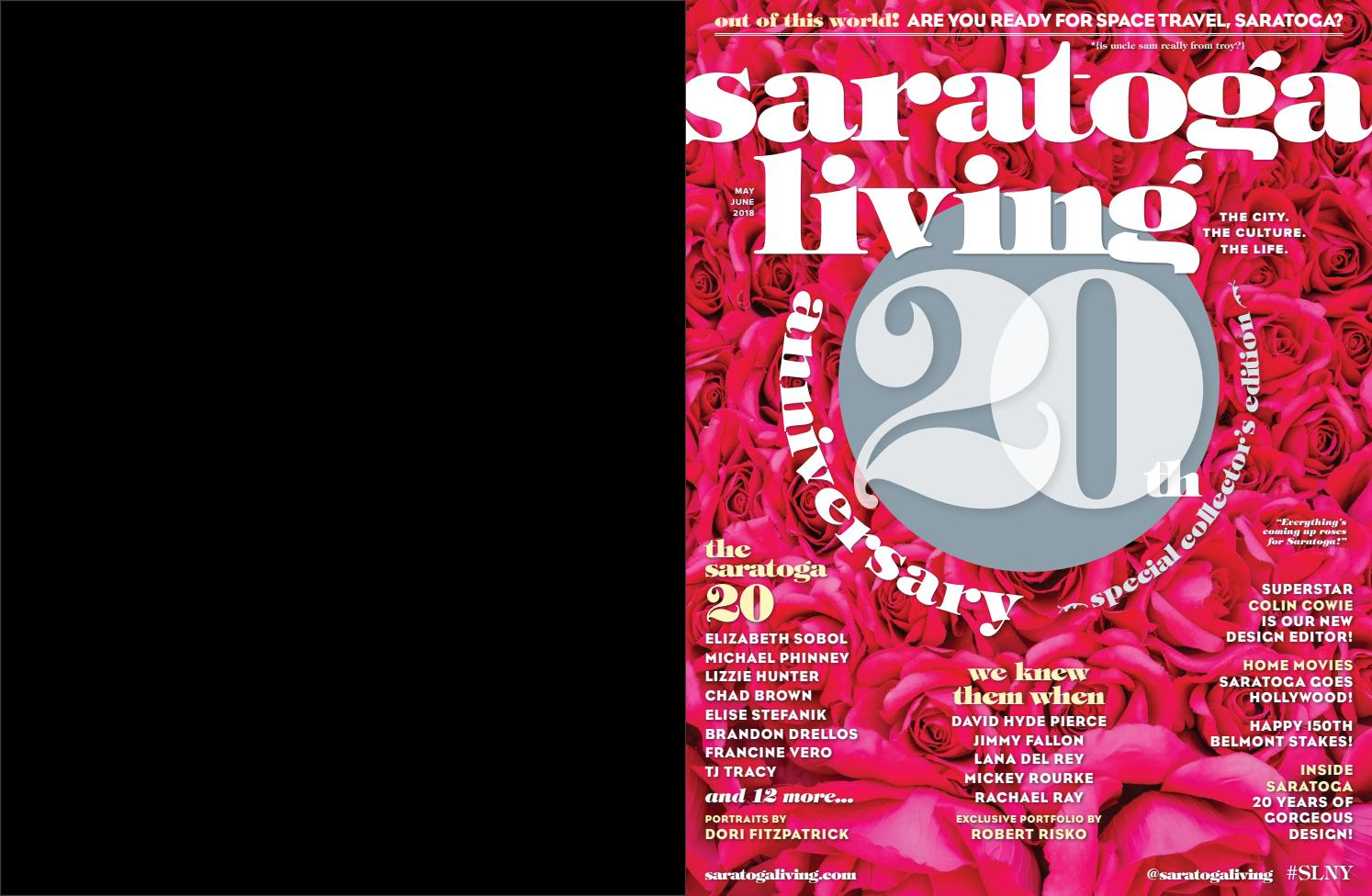 saratoga living May/June 2108 issue by
