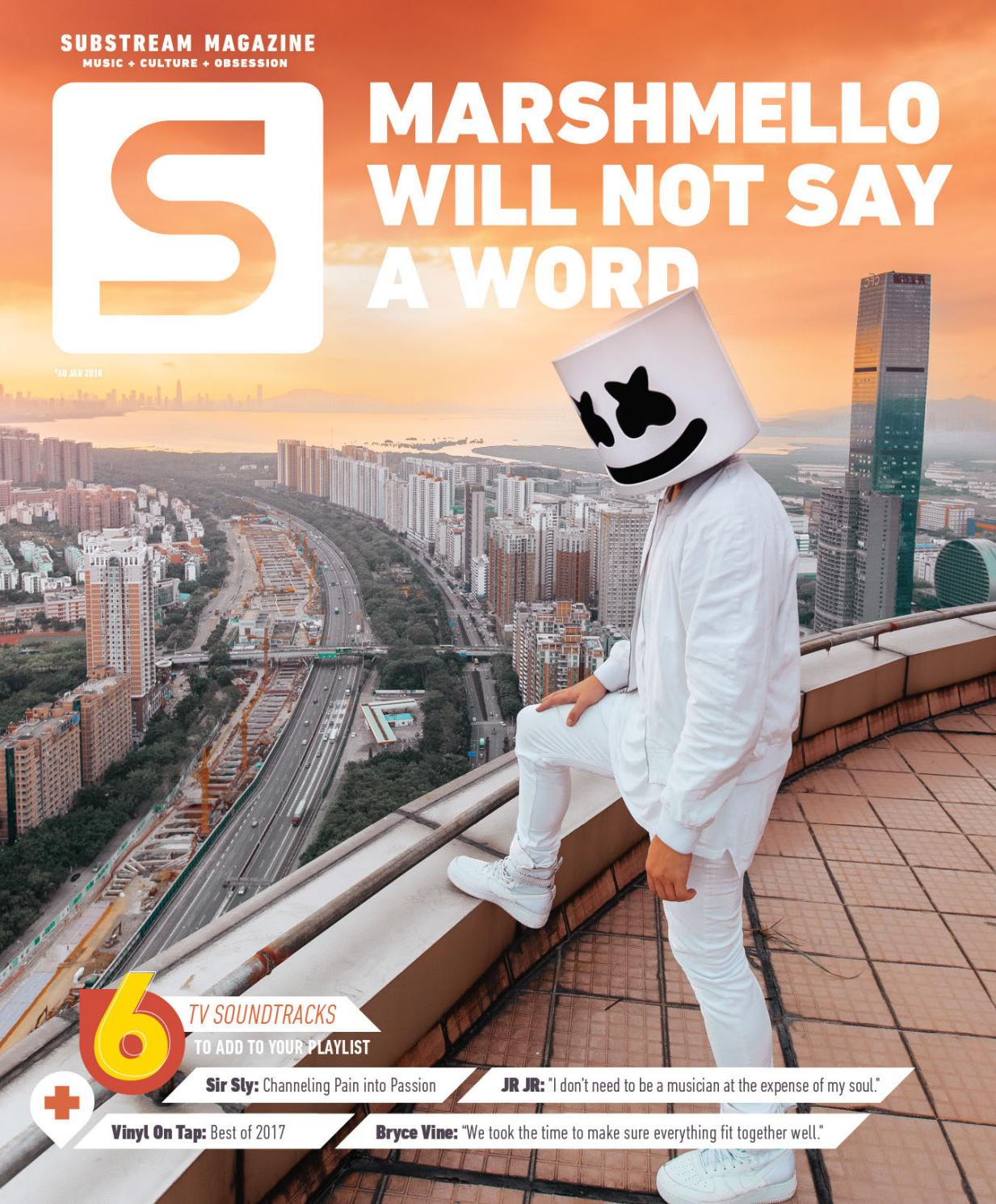 Substream Issue 60 Featuring Marshmello by Substream Magazine - issuu 245a6fe0a1