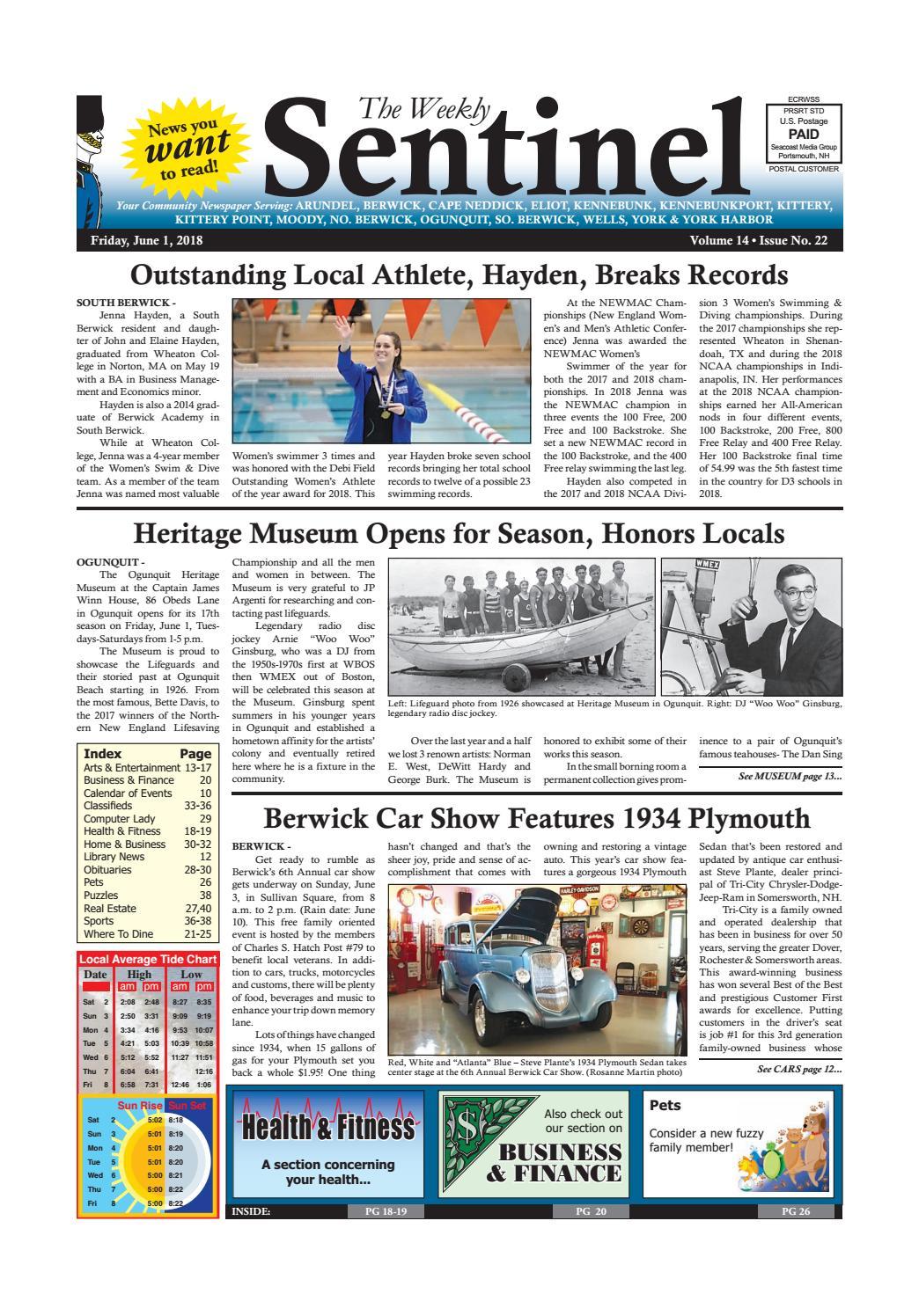 WS Mar. 7, 2014 by Weekly Sentinel - Issuu