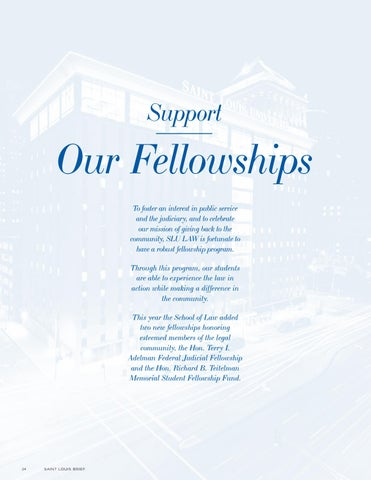 Page 26 of Support Our Fellowships
