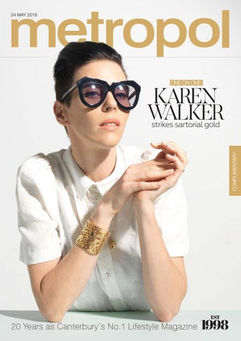 541af4e856fa 24 MAY 2018. ONE ON ONE  KAREN WALKER COMPLIMENTARY