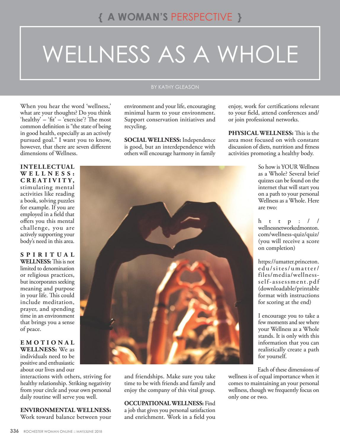 RWO May 2018 by Rochester Woman Online - issuu