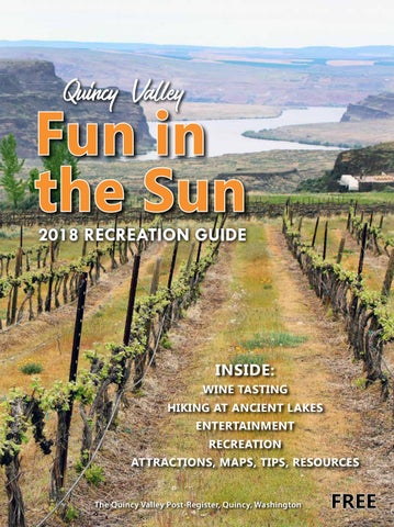 The Quincy Valley Post Register Fun In The Sun 2018 Recreation Guide