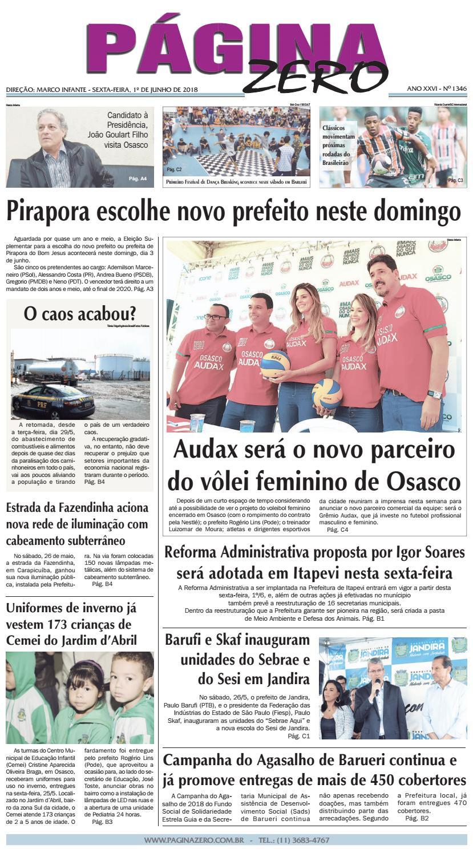 6bd370e138 Página Zero Edição nº 1346 (01 06 2018) by Para acessar o seu Página Zero -  issuu