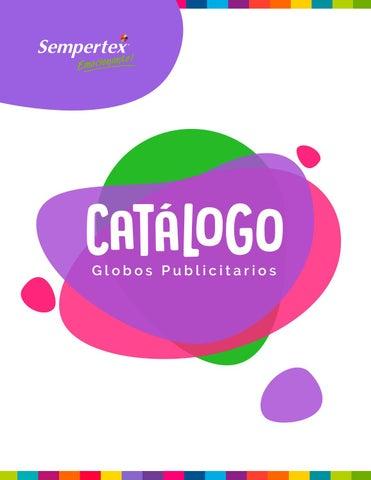 Catálogo Globos Publicitarios 2018 by Sempertex Balloons - issuu 659bfbeaec6d