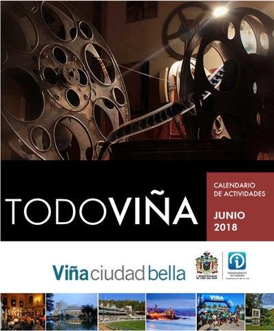 26f65f6ec527 TODOVIÑA junio 2018 by Departamento de Turismo Municipalidad de Viña ...