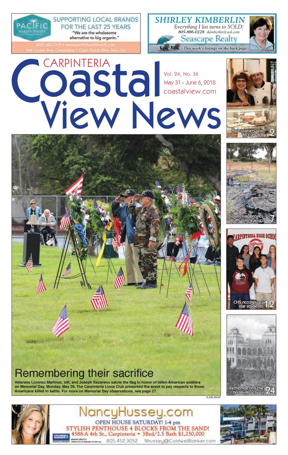 f93e19db2e6 Coastal View News • May 31, 2018 by Coastal View News - issuu