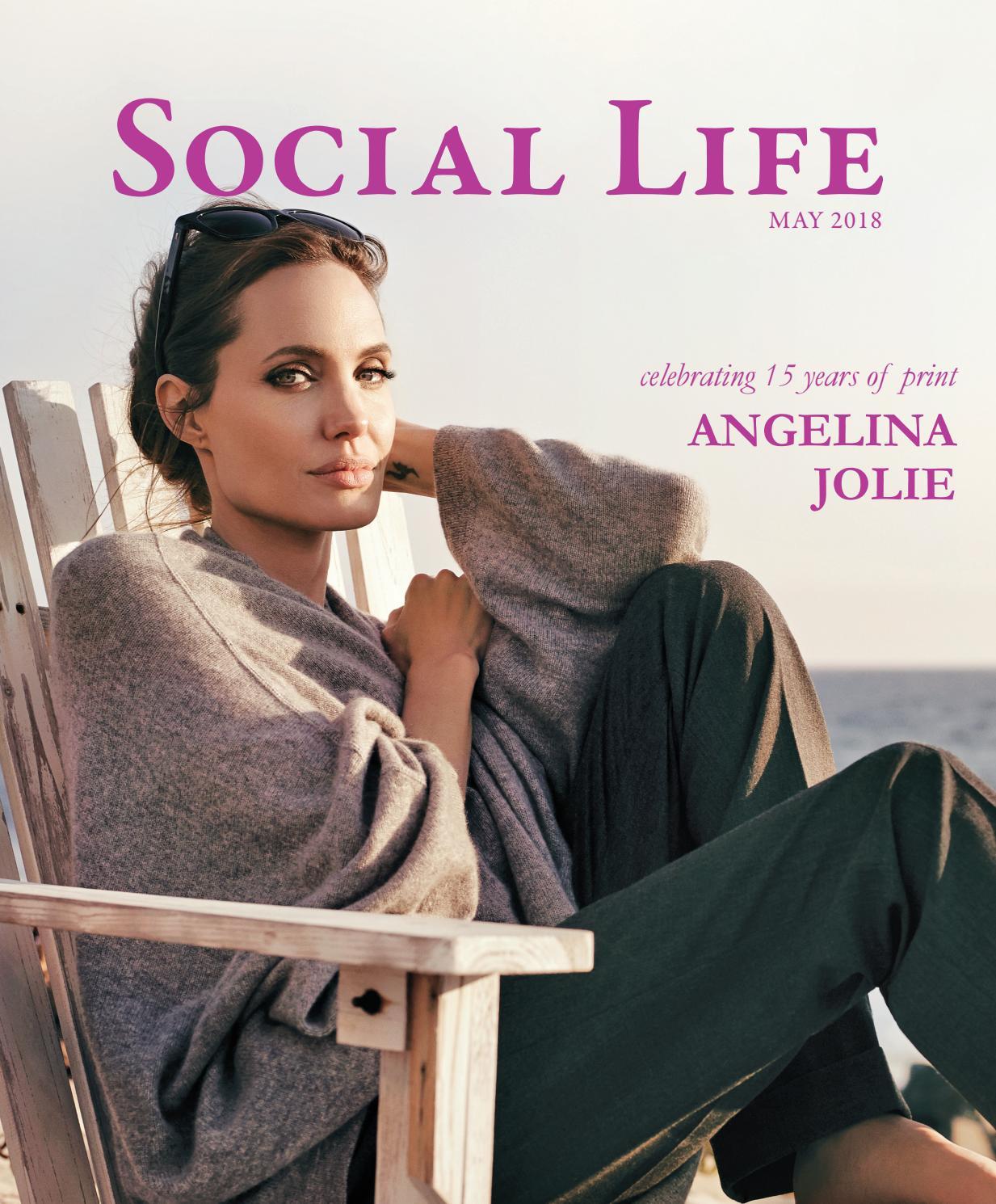 54b65f11 Social Life - May 2018 - Angelina Jolie by Social Life Magazine - issuu