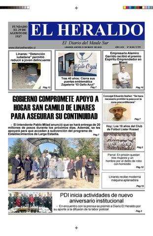 1a3ca35999b Jueves 31 de mayo 2018 by diario heraldo de linares - issuu