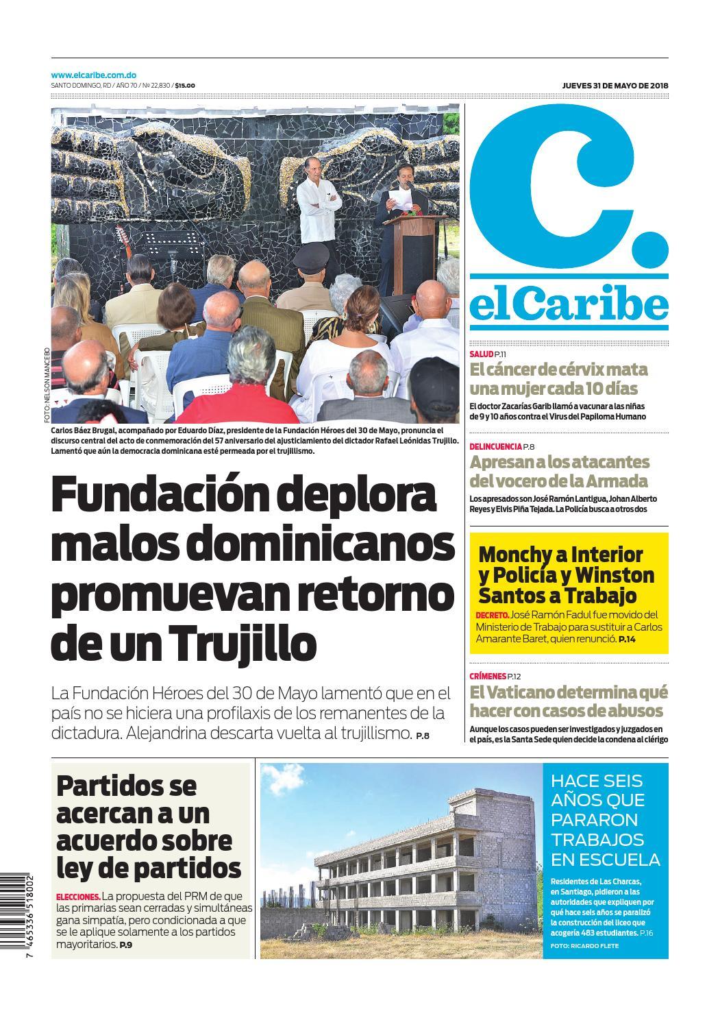2926bf33397a elCaribe by Multimedios del Caribe - issuu