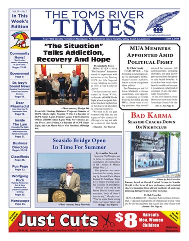2018 06 02 The Toms River Times By Micromedia Publicationsjersey