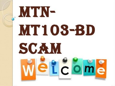 Secure Platform Funding- BG-SBLC-MTN-MT103-BD SCAM by James Smith