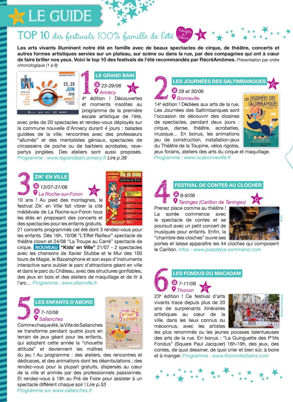 Magazine RécréAmômes   20 été 2018 (juin-juillet-août 2018) by Magazine  RécréAmômes - issuu ce150d4eff5a