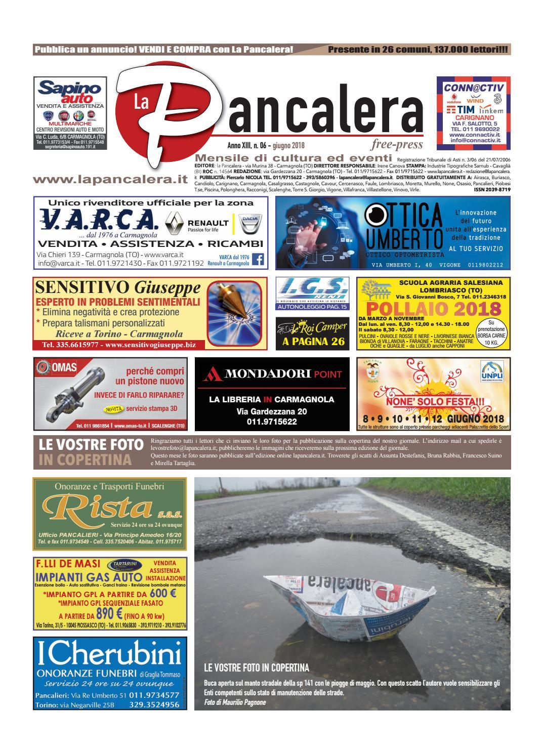 98581ad7a82f2 La pancalera giugno 2018 by la Pancalera - issuu
