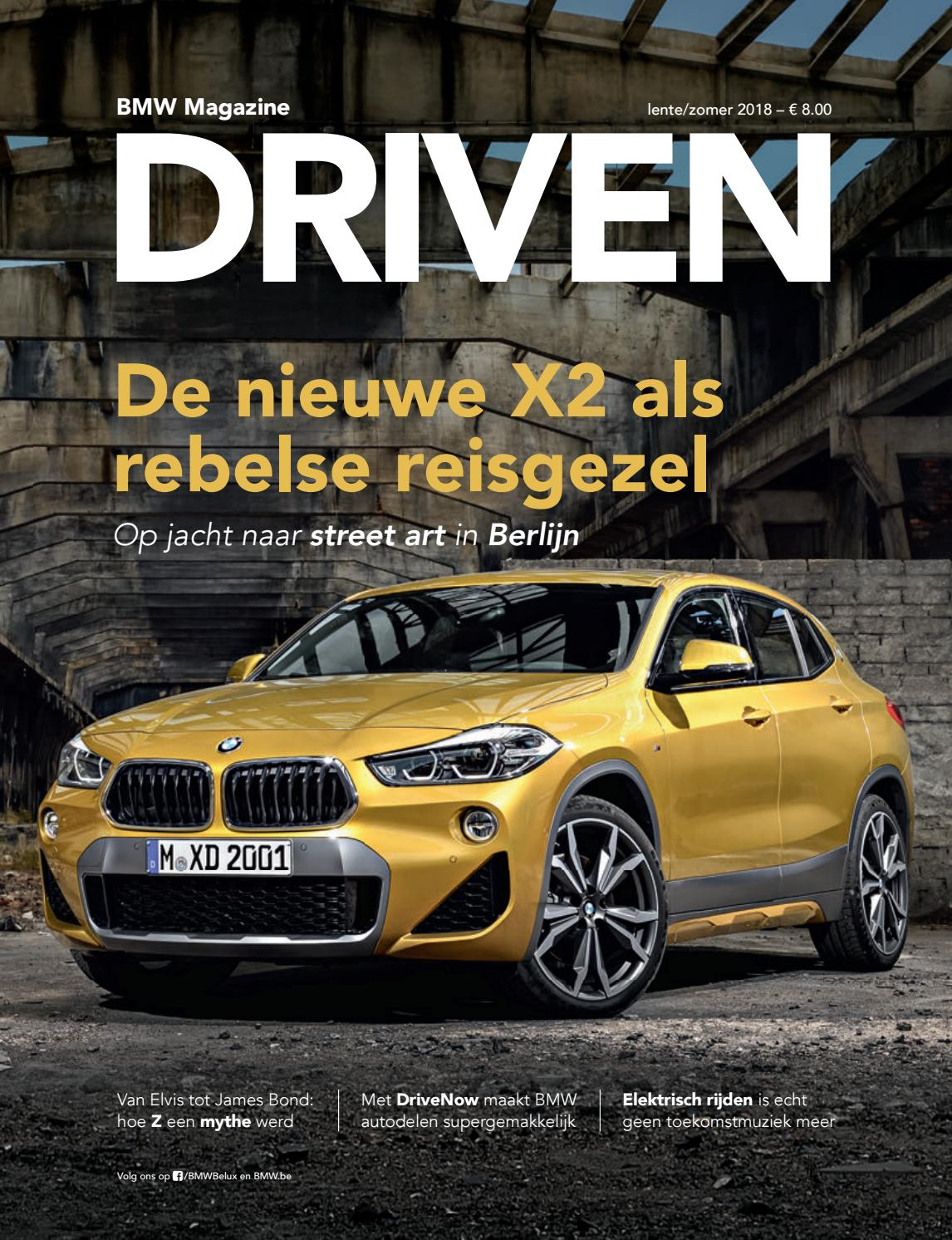 bmw magazine driven nl 2018 1 zomer by bmw group belux issuu. Black Bedroom Furniture Sets. Home Design Ideas