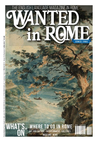 Wanted In Rome April 2018 By Wanted In Rome Issuu