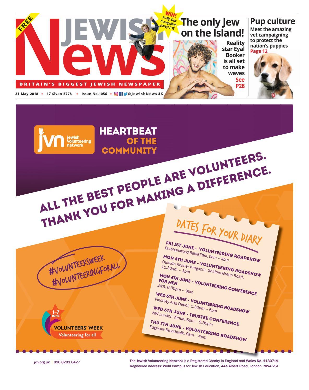 b3ad6e538 1056 by Jewish News - issuu