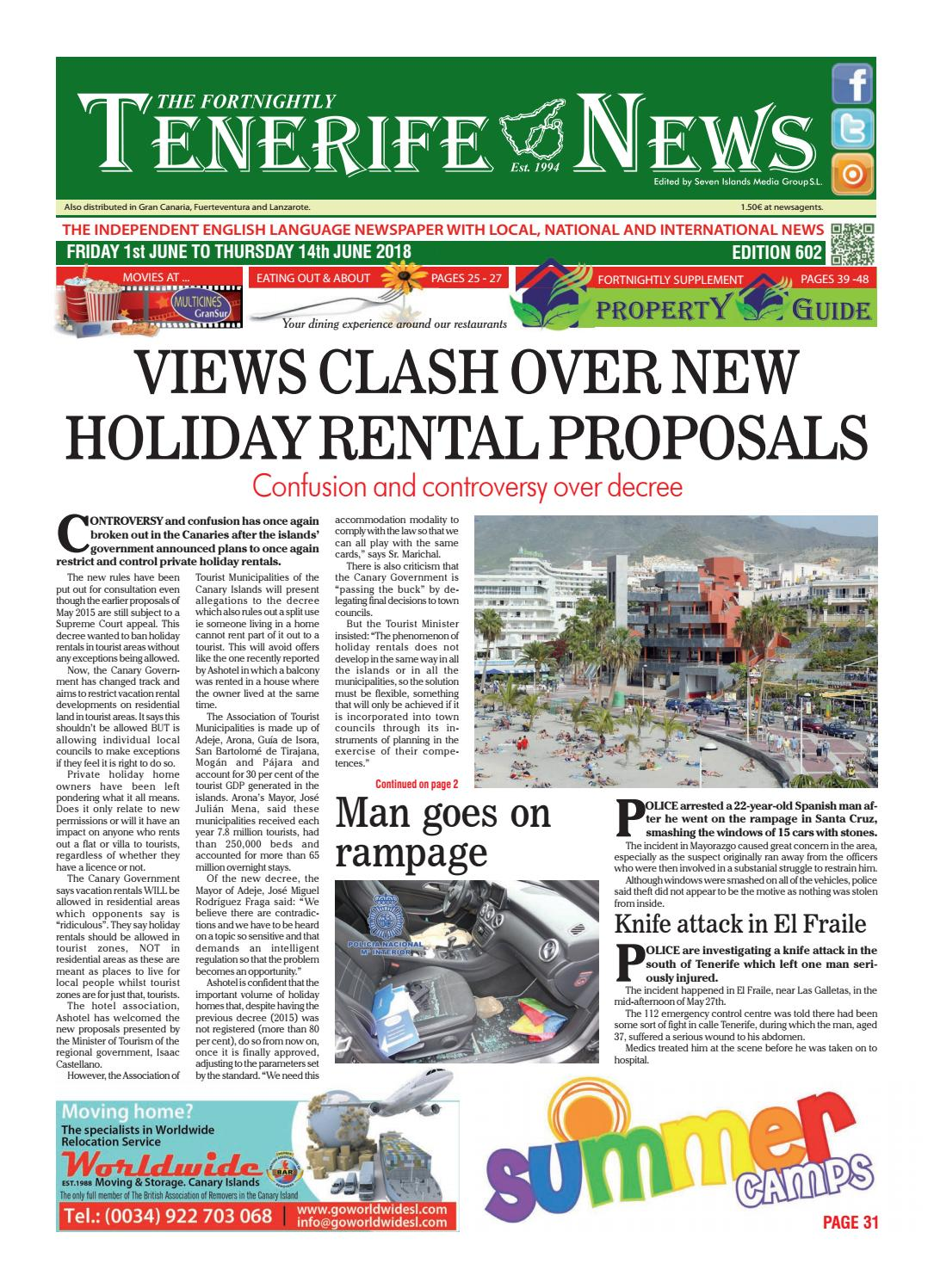 Edition 602 By Tenerife News Issuu