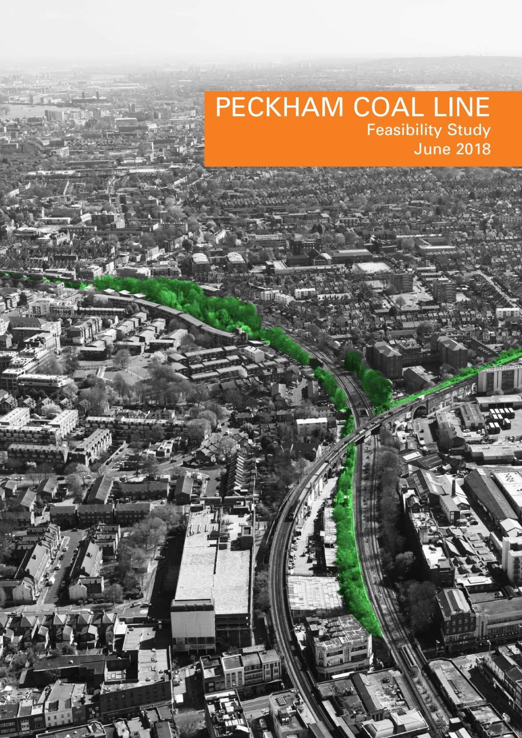 Peckham Coal Line feasibility study June 2018 by