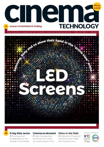 dffe35f36e4 Cinema Technology June 2018 by Cinema Technology - issuu