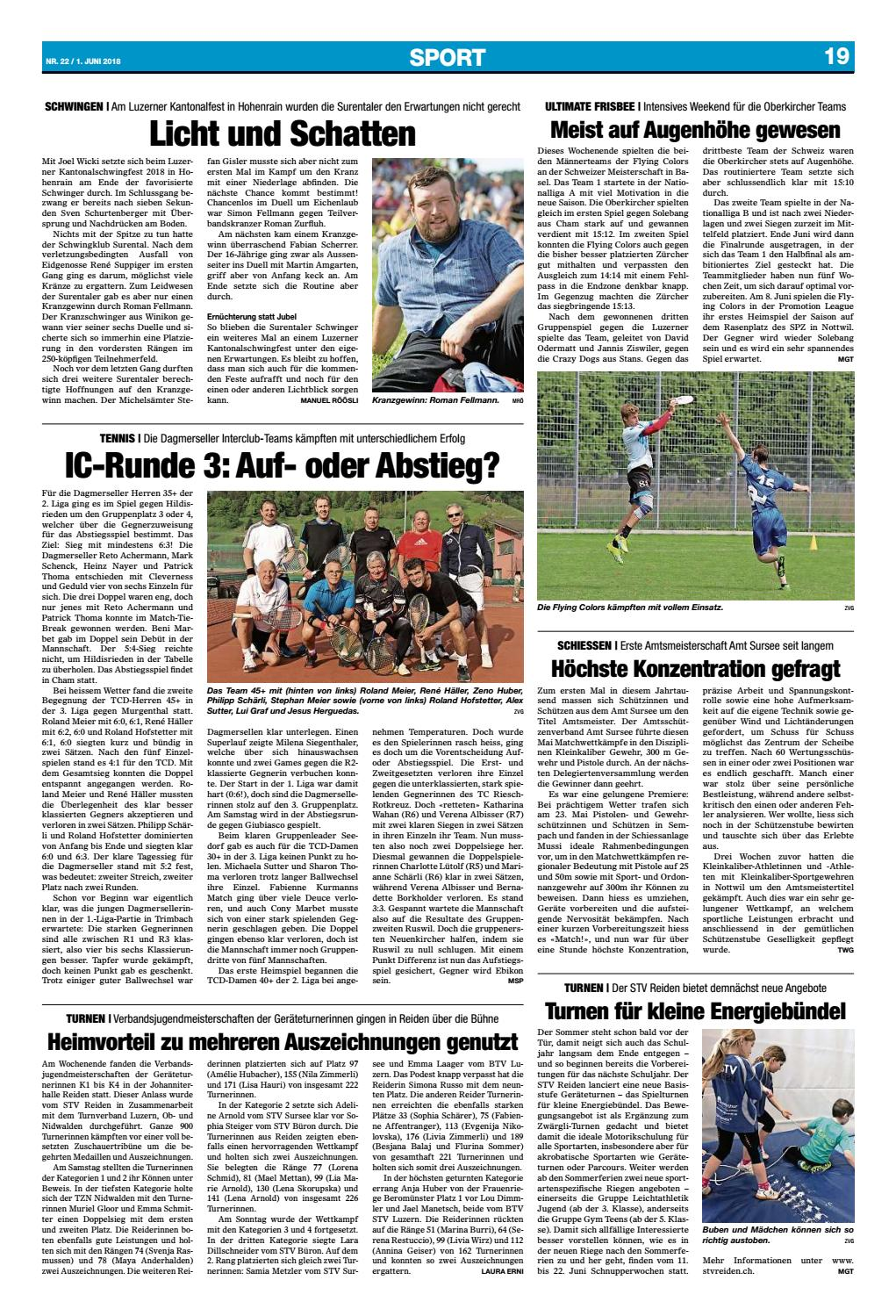Oberwiggertaler 22/18 by ZT Medien AG - issuu