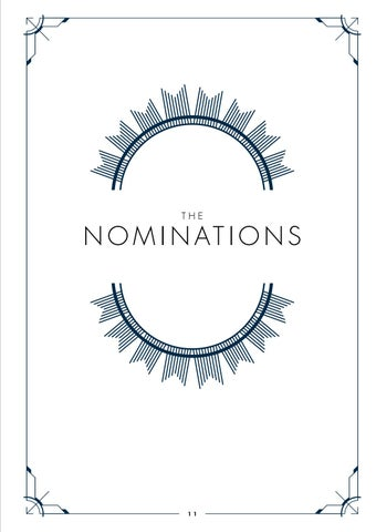 Page 13 of The Nominations