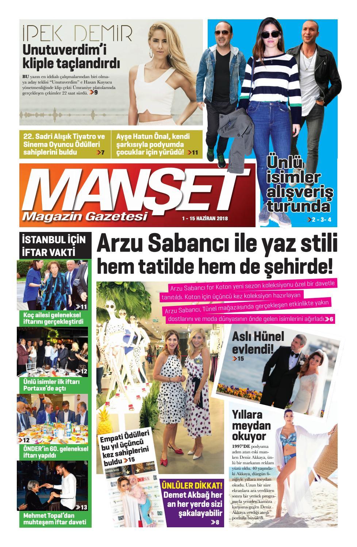 03d20aa6260aa Manşet Magazin Gazetesi 1 haziran sayısı by Yusuf Gür - issuu