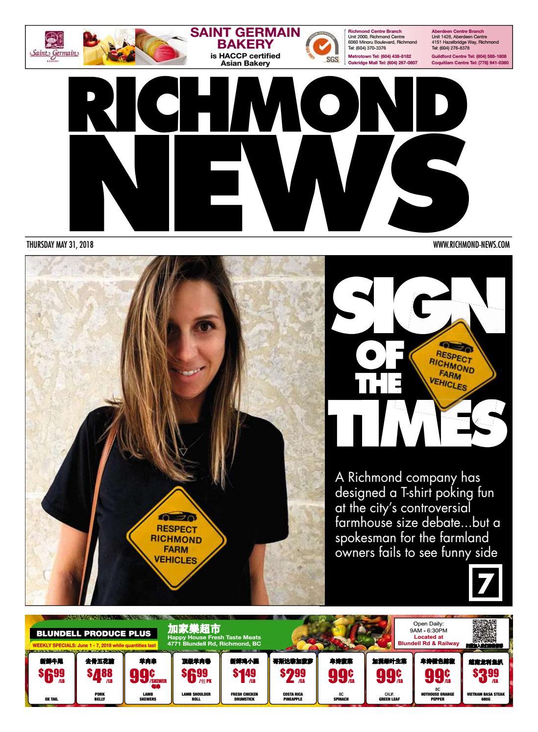 74c955608 Richmond News May 31 2018 by Richmond News - issuu