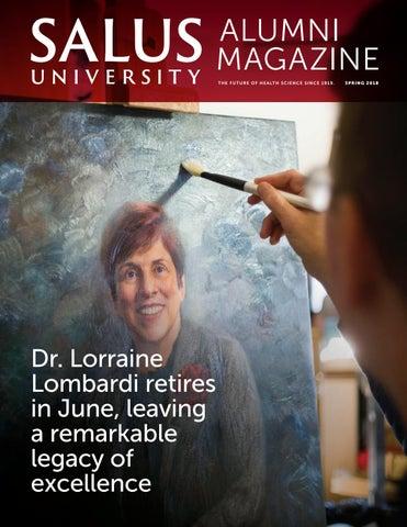83f67dd6c43 Salus University Alumni Magazine Spring 2018 by Salus University - issuu