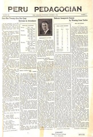34c555832653 1924-1925 Peru Pedagogian Issues 1-15 by Peru State College Library ...