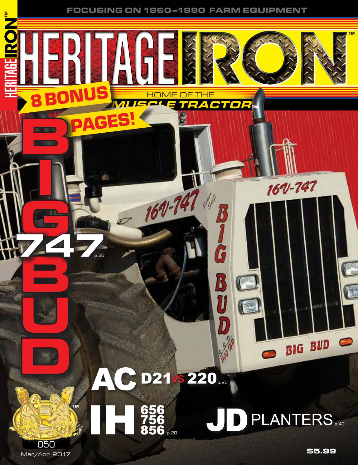 Heritage Iron Issue #050 Featuring BIG BUD! by Heritage Iron