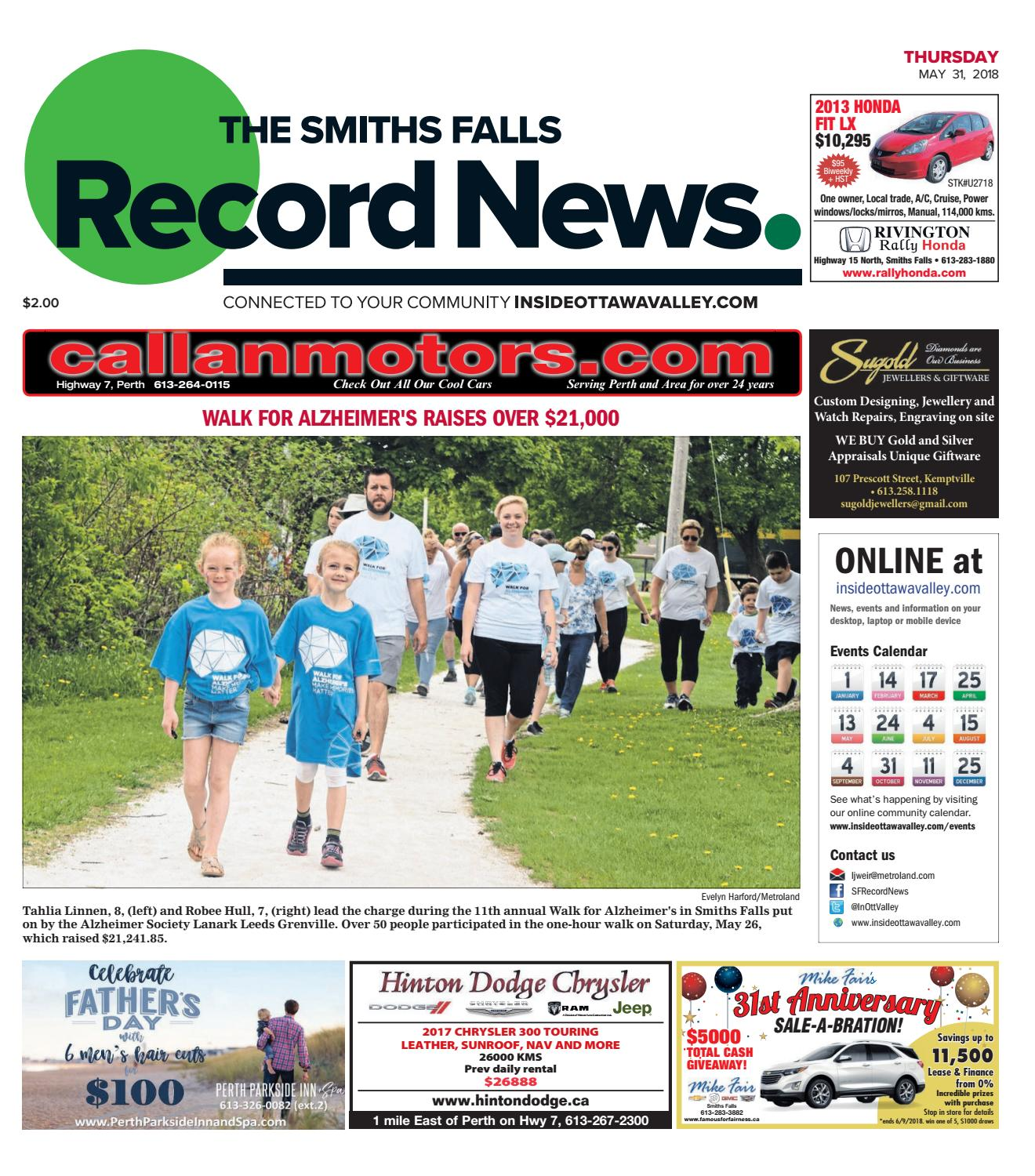 Otv s a 20180531 by Metroland East - Smiths Falls Record News - issuu be7ea3d51