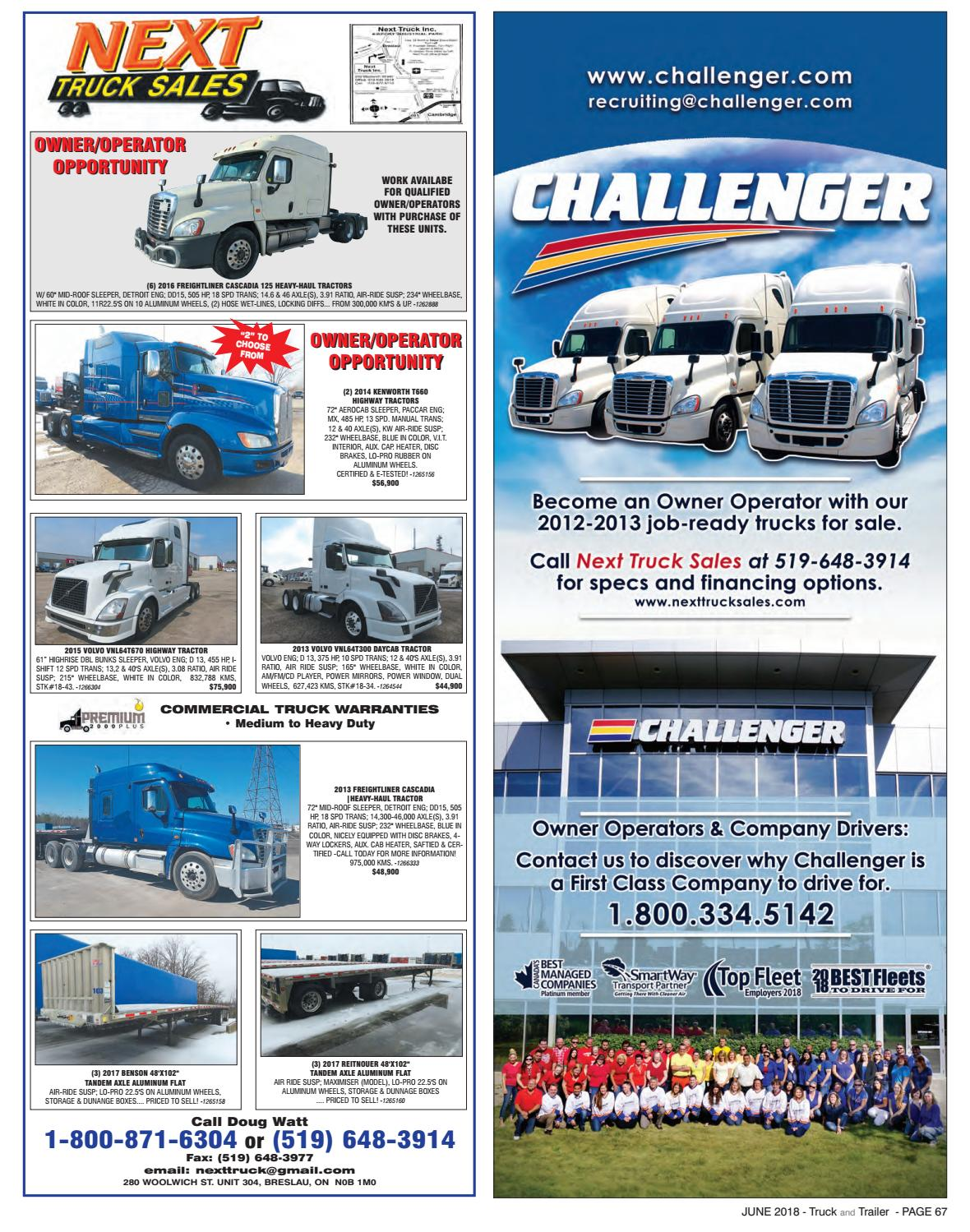 Truck and Trailer June 2018 by Annex Business Media - issuu