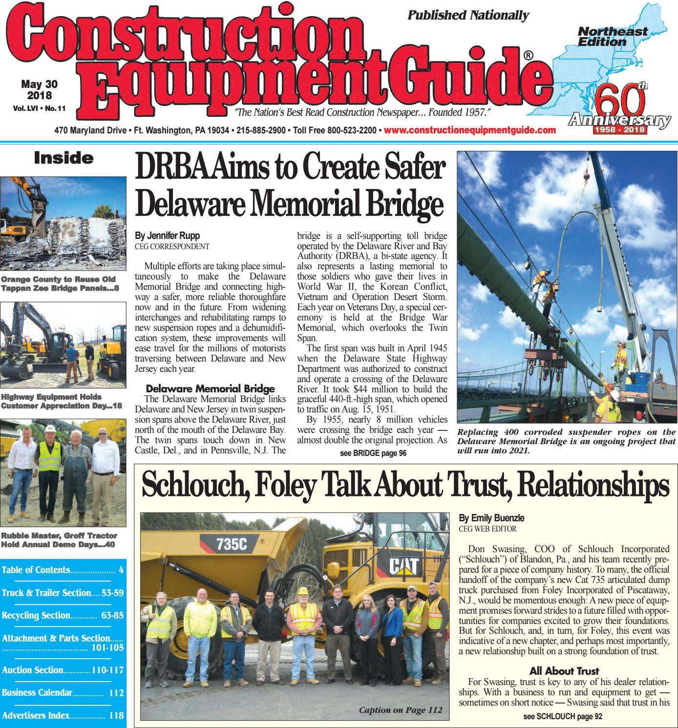 Northeast 11 May 30, 2018 by Construction Equipment Guide - issuu