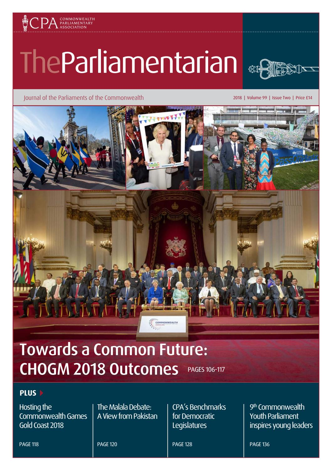 The Parliamentarian 2018 Issue Two by The Parliamentarian - issuu