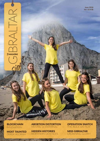 The Gibraltar Magazine June 2018 by Rock Publishing Ltd - issuu b19994916cf