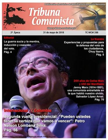 edf632eb 1 Tribuna Comunista 288 MOVIMIENTO COMUNISTA MEXICANO MAYO 31 DE 2018
