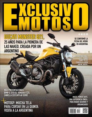 229febbc73a7 EXM 170 - Mayo 2018 by Exclusivo Motos - issuu