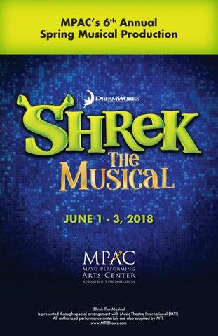 lesson plans on shrek the musical