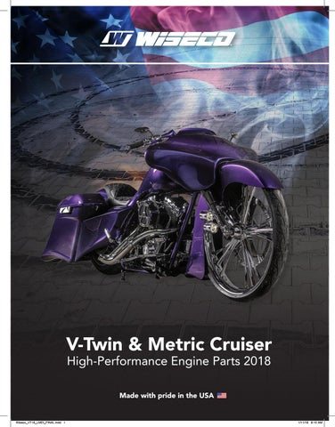 2018 Wiseco V-Twin Catalog by Race Winning Brands - issuu