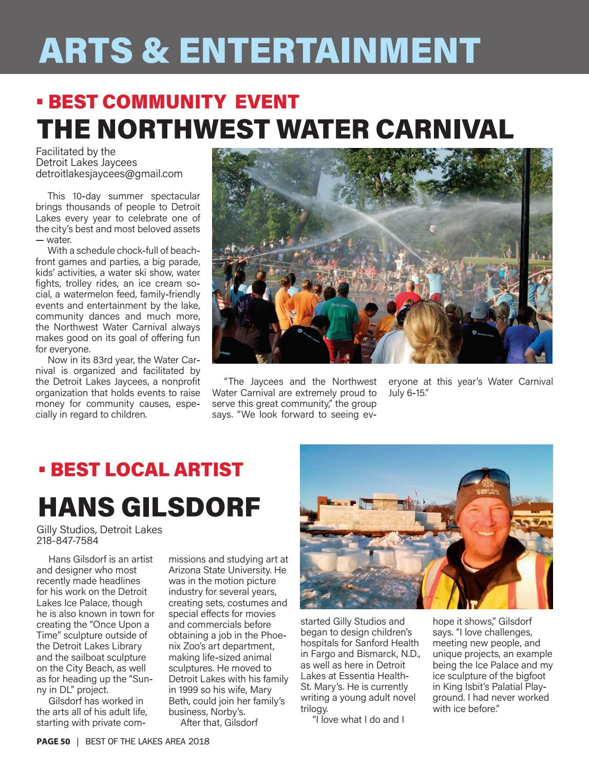 Best of the Lakes Area 2018 by Detroit Lakes Newspapers - issuu