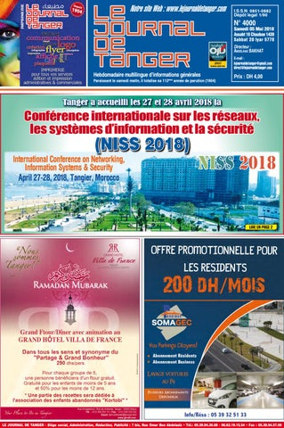 53c97201f Le journal de Tanger 05 mai 2018 by Le Journal de Tanger - issuu