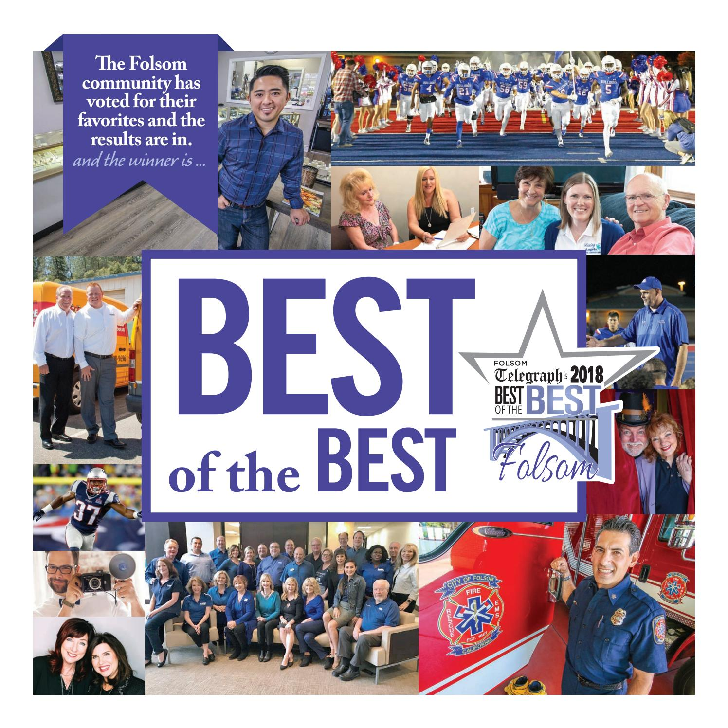 Folsom best of the best 2018 by Brehm munications issuu