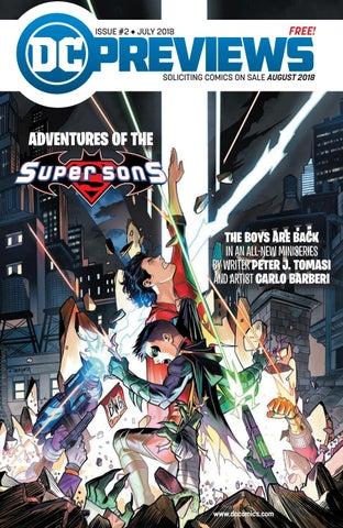 DC PREVIEWS [JUN/AUG] 2018 by Comics Manga Videos y Mas - issuu