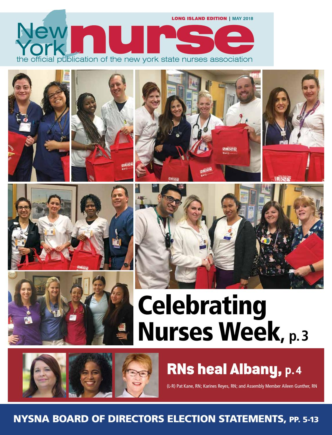 Nynurse long may by New York State Nurses Association - issuu