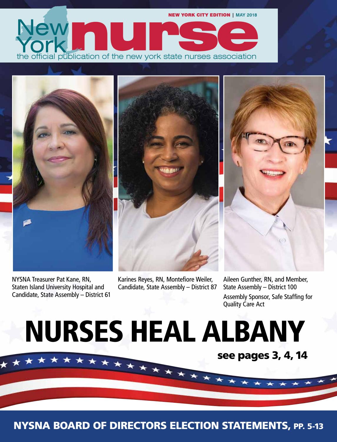 Nynurse nyc may by New York State Nurses Association - issuu