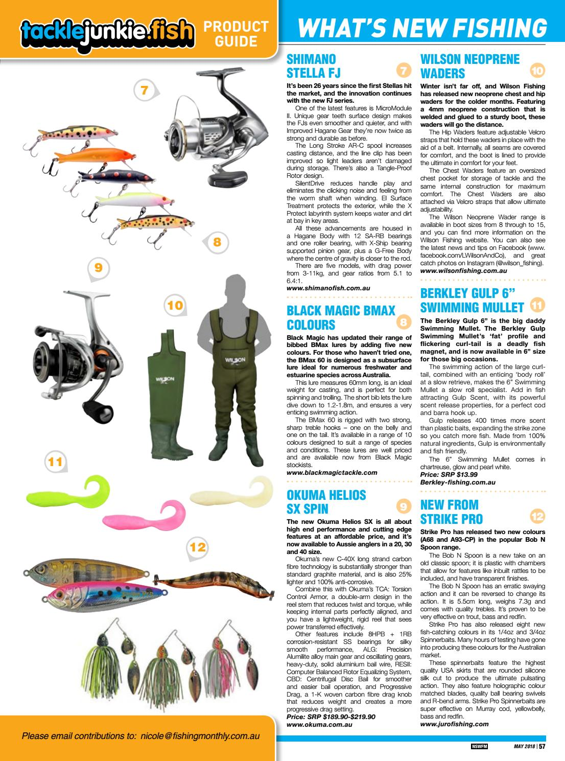 NSW Fishing Monthly May 2018 by Fishing Monthly - issuu
