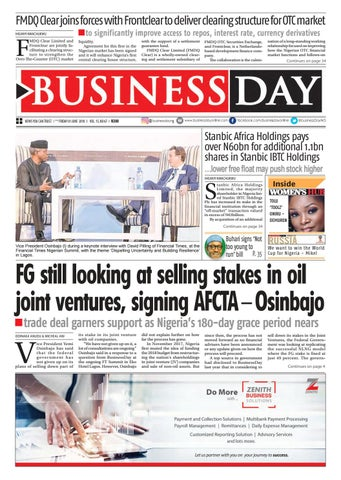 f55429d9ceb Businessday 01 jun 2018 by BusinessDay - issuu