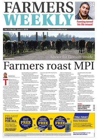 0e09751e2 Farmers Weekly NZ June 4 2018 by Farmers Weekly NZ - issuu